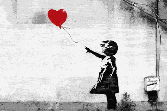 Girl-with-a-Balloon-by-Banksy
