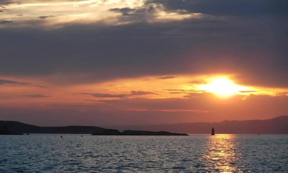 Marseille sun set