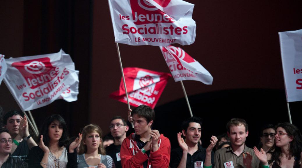 Membres du mouvement des jeunes socialistes en 2016
