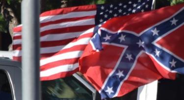 Drapeau USA VS Confédéré
