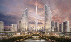 La futur tour Dubaï Creek Harbor