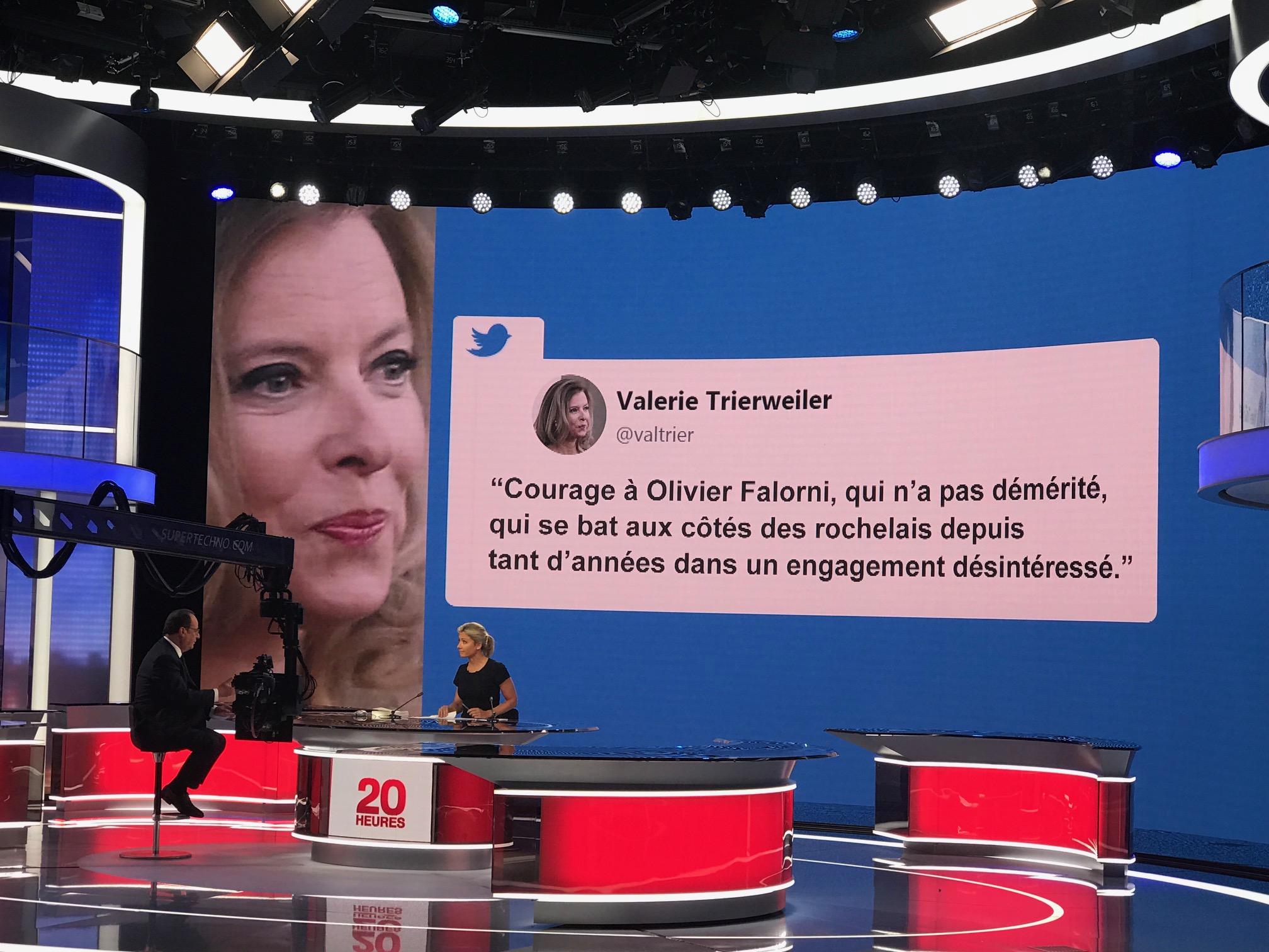François Hollande répond aux questions d'Anne-Sophie Lapix