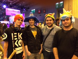Paris Games Week 2015 participants