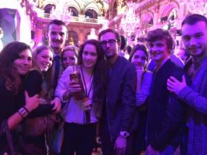 Les blogueurs de Untitled Magasine, lauréat du meilleur blog Culture.(c)V.Schoonmann